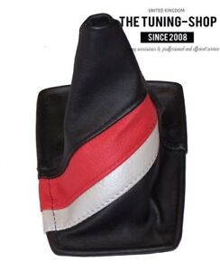 Shift Boot For Toyota Celica 1990 93 Trd Stripes Leather