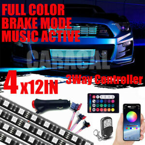 Multicolor Pro Grille Led Exterior Multicolor Strip Light Kit For Car Waterproof