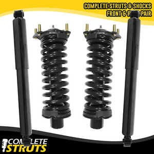 2002 2012 Jeep Liberty Front Quick Complete Strut Rear Shock Absorber Bundle