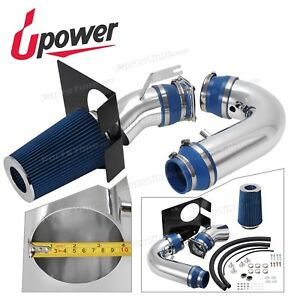 Upower 4 Blue Cold Air Intake Kit With Filter For Ford F 150 Expedition