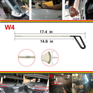 Pdr 1pc W4 Push Whale Tail Rod Kit Auto Body Dent Ding Repair Removal Tools
