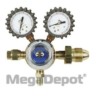 Uniweld R1362 Specialty Regulator Co2 W gauge Boots 5 120 Psig Cga320