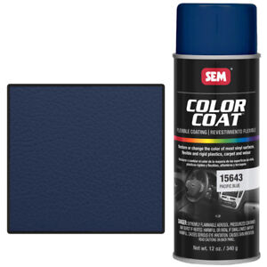 Sem 15643 Pacific Blue Color Coat Aerosol 12 Oz
