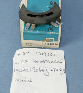 Nos 1961 63 Buick Special Neutral Safety Backup Switch 1349888