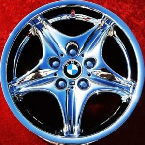 Set Of 4 Chrome 17 Bmw M3 M Roadster Coupe Factory Oem Wheels Rims 59263