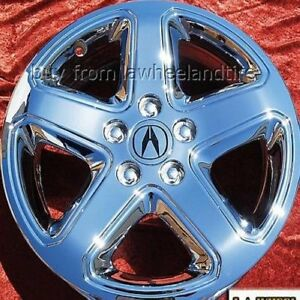 Set Of 4 Chrome 17 Acura Cl Type S Oem Factory Wheels Rims Tl Mdx Tsx Rsx 71715