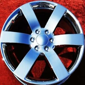 Set Of 4 Chrome 20 Chevrolet Trailblazer Ss Oem Wheels Rims Gmc Envoy 5254