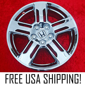 Set Of 4 Chrome 18 Honda Odyssey Oem Factory Wheels Rims Pilot Ridgeline 64021
