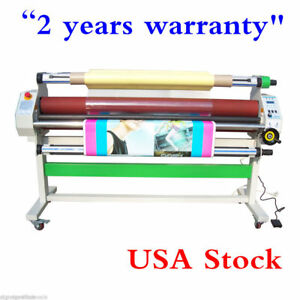 Usa Ac110v 60 1520mm Auto Low Temp Wide Format Cold Laminator Heat Assisted