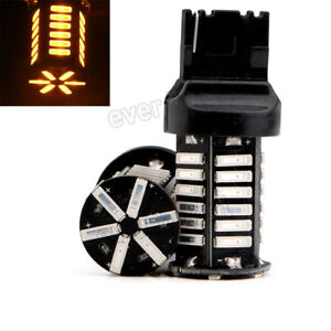 30pcs T20 7440 7440na Led Turn Signal Reverse Light 7014 36 Led Amber Lighting