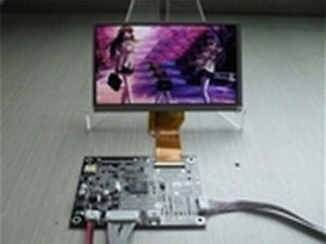 At090tn12 V 3 Innolux 9 Lcd Tft Monitor 1av 1vga drive Vehicle mounted Display