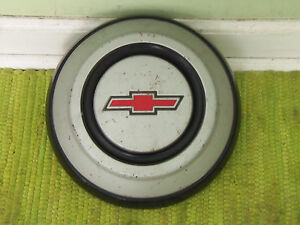 1968 Chevy Dog Dish Hubcap C10 Pickup Truck 1 2 Ton Painted 68 Hub Cap