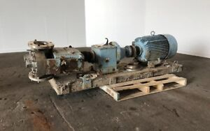 Waukesha 6 Rotary Positive Displacement Pump Model 320 Stainless 47384098