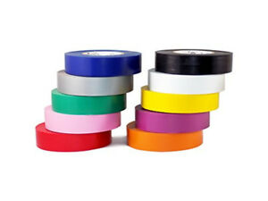 Electrical Tape 7mil 3 4 Inch X 66 Ft 1 Roll 10 Roll 100 Roll Packs