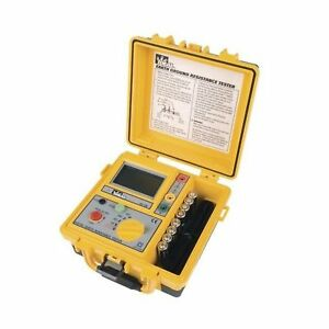 Ideal Industries 61 796 Earth Ground Resistance Tester 3 pole Includes Tl 796