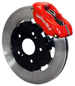 Wilwood Disc Brake Kit front 02 06 Acura Rsx 04 05 Civic Hatchback Si 12 red