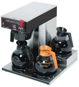 Newco Ace lp Commercial Coffee Brewer Maker Contact 4 Shipping