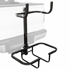 Viking Hitch Mounted Stack Rack Vehicle Cargo Carrier Basket For 2 Receivers