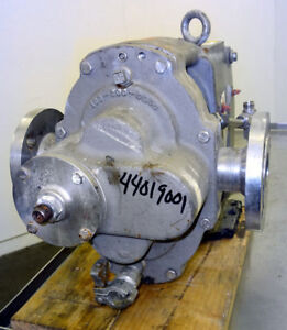 Waukesha 5050 Rotary Positive Displacement Pump Stainless 44019001