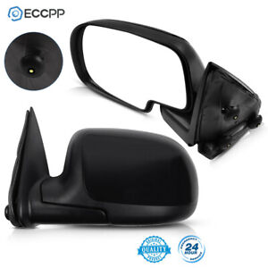 Left Right Side View Door Mirrors Manual For 1999 2006 Chevrolet Silverado 1500