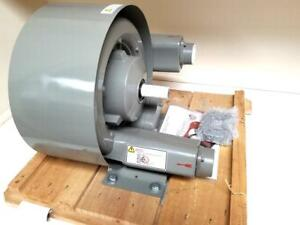 All Star Hb 3301 Regenerative Blower 106 Cfm 141 H2o Vacuum No Motor Included