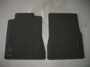 2005 2006 2007 2008 2009 Ford Mustang Shelby Front Gray Carpet Floor Mats Oem