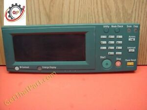 Kyocera Mita Km 3130 Complete Operation Control Panel Assembly