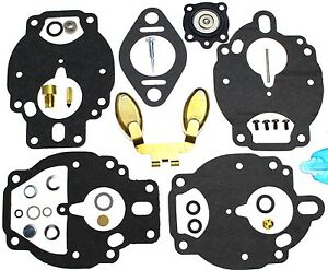 Carburetor Kit Float 13596 Fits Allis Chalmers G230 Chevrolet 153 Engine Zc79