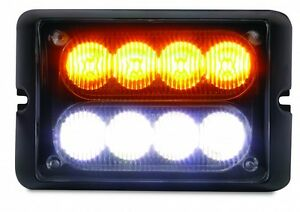 Dual Row Led Surface Mount Strobe Light Multiple Colors Avaliable