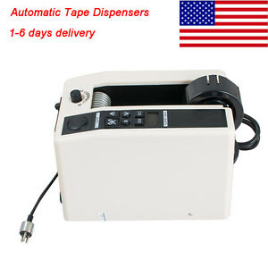 Us Ship Automatic Tape Dispenser Tape Cutter Packaging Machine Led Displays