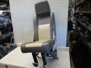2007 Ford Expedition Right 3rd Row Rear Bench 60 40 Back Seat Power Folding Oem