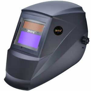 Antra Ah6 220 0000 Solar Power Auto Darkening Welding Helmet Shade 4 5 9 9 13