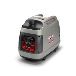 Briggs Stratton P2200 1700 running watt Inverter Portable Generator W Engine