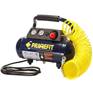 Home Workshop Air Compressor Prime Fit 1 Gallon 125 Psi Portable Light Weight