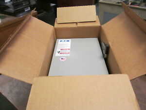 Eaton Non fusible Safety Switch Dg322ugb 60a 240v 3p New Surplus