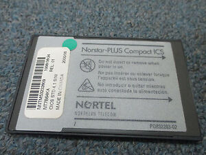 Nortel Norstar Compact Ics Cics Nt7b64ka Std 4 1 S w Cabinet Software Flash Card