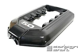2011 2014 Ford Mustang Gt 5 0 Real Carbon Fiber Engine Plenum Intake Cover