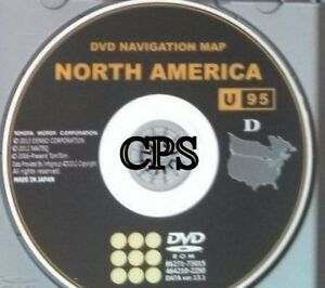 U95 Update For 2010 2011 2012 Toyota Sequoia Tundra Venza Navigation Oem Dvd Map