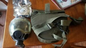 Msa Advantage 1000 Voice Amp Ready W Hydration Tube Riot Control Gas Mask Sm
