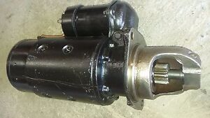 Case 188 Diesel Delco Starter 1109187 New Old Stock Dry Clutch Only