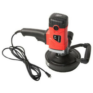 Heavy Duty Handheld Corded Concrete Grinder With Carbide Blade Variable Speed