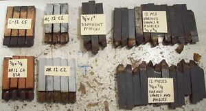 Brazed Carbide Lathe Tool Bits 3 4 Lot Of 43 Pieces