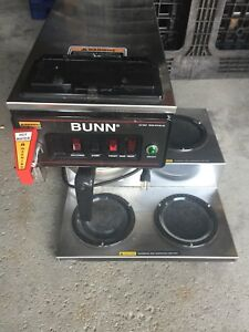Bunn Cwtf 15 Automatic Coffee Brewer 3 Lower Warmers Hot Water Faucet 110volt