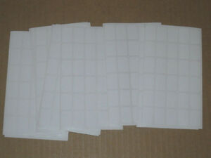 5100 Blank Garage Yard Sale Rummage Stickers Price Labels White my Other Items
