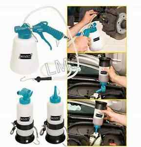 New Pneumatic Brake Fluid Bleeder Set Use With Compressed Air Hazet 4969 1 3