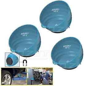 Magnetic Parts Pick Up Cup Tray 3x Hazet 197 3 150mm Diameter At Top W Magnet