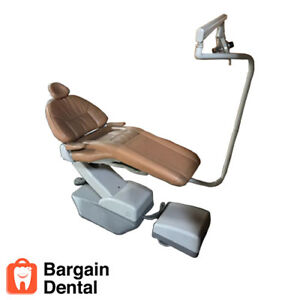 A dec Hydro Electromechanical Dental Patient Chair Premium With Operatory Light