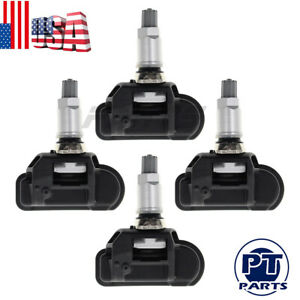 4 Pcs Tpms Tire Pressure Monitor Sensor For Mercedes Benz Glk Ml S Sl Slk Cl