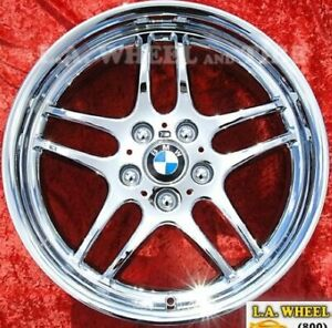 Set Of 4 Chrome 18 Bmw 740i 740il 750i 750il Style 37 Oem Wheels Rims 59271