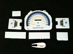 84 85 86 87 88 Toyota Pick Up 4 Runner no Rpm Km White Face Cluster Gauges